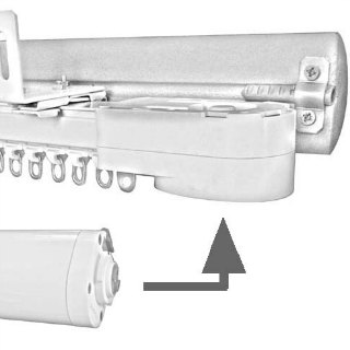 motorized curtain rods and rails