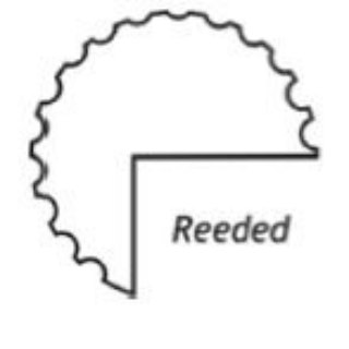 readed curtain rods