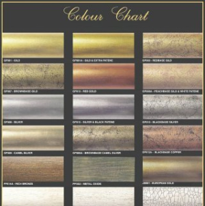 curtain rod colours